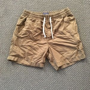 J Crew Dock Shorts - Green - men's Small